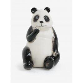 Černo-bílá kasička ve tvaru pandy SIFCON