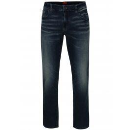 Modré pánské regular fit džíny s vyšisovaným efektem s.Oliver