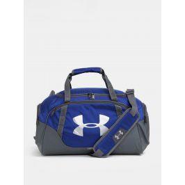 Šedo-modrá vděodolná sportovní taška Under Armour