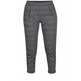 Černo-bílé zkrácené kalhoty TALLY WEiJL