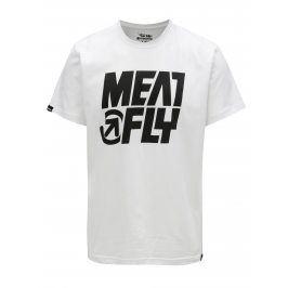 Bílé pánské tričko MEATFLY Shaper