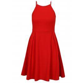 Červené šaty na ramínka Haily´s Lolly