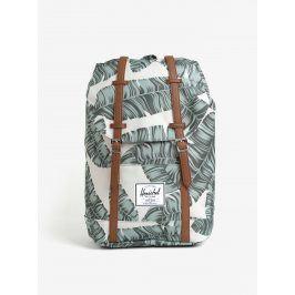 Béžový batoh s potiskem Herschel Retreat 19,5 l