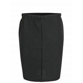 Černá sukně s pružným pasem VERO MODA Mona