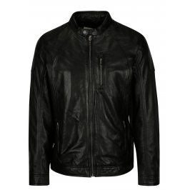 Černá kožená bunda Casual Friday by Blend