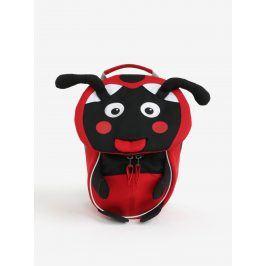 Černo-červený batoh ve tvaru berušky Affenzahn 4 l