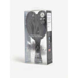 Tmavě šedý velký hřeben ve tvaru andělských křídel Tangle Angel