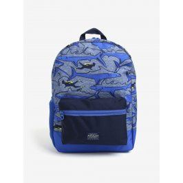 Tmavě modrý klučičí vzorovaný batoh Tom Joule