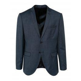 Tmavě modré vlněné oblekové sako Selected Homme Done