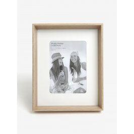 Hnědý dřevěný fotorámeček SIFCON
