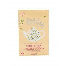 Bílý čaj English Tea Shop Lychee Bio