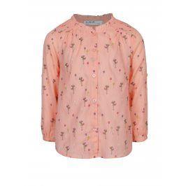 Světle růžová holčičí vzorovaná košile 5.10.15.