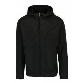 Černá pánská bunda s kapucí Calvin Klein Jeans Ondo