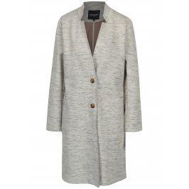 Šedo-krémový dámský lehký kabát Broadway Abigale