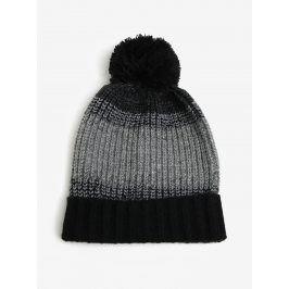 Černo-šedý kulich Burton Menswear London