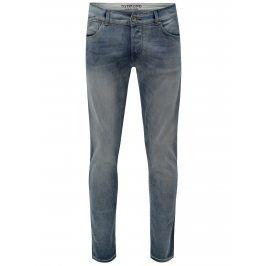 Světle modré regular slim fit džíny Dstrezzed
