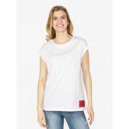 Bílé dámské tričko bez rukávů Calvin Klein Jeans Tika