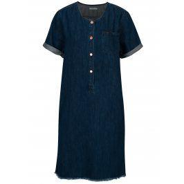 Modré džínové šaty s knoflíky Lee Seasonal