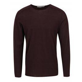 Vínové tričko s dlouhým rukávem Jack & Jones Premium Jamie