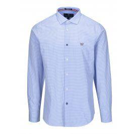 Modrá pánská kostkovaná košile Jimmy Sanders