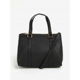 Černá kabelka s detaily ve zlaté barvě Esoria Lilza