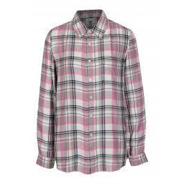 Růžovo-krémová kostkovaná košile Blendshe Riri