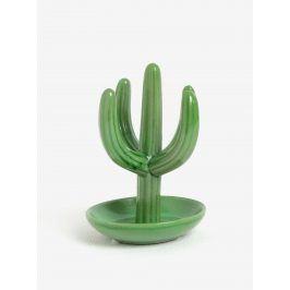 Zelený stojan na šperky ve tvaru kaktusu SIFCON