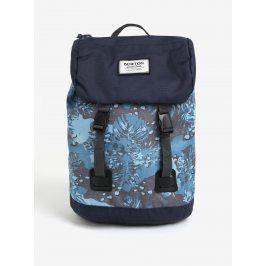 Modrý klučičí vzorovaný batoh s klopou Burton Youth Tinder 16 l