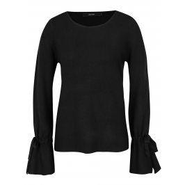 Černý svetr se zvonovými rukávy VERO MODA Montauge
