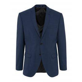 Tmavě modré oblekové sako s příměsí vlny Selected Homme Newone