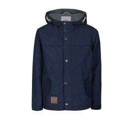 Tmavě modrá klučičí voděodolná bunda s kapucí 5.10.15.