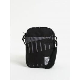Šedo-černá crossbody taška s potiskem The Pack Society