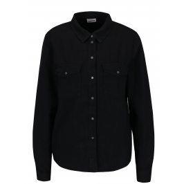 Černá košile s kapsami Noisy May Kendall