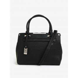 Černá kabelka s detaily ve stříbrné barvě Bessie London