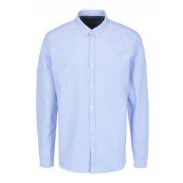 Světle modrá košile SUIT Oxford