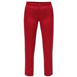 Červené chino kalhoty Skunkfunk