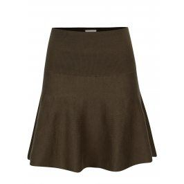 Khaki svetrová sukně VILA Bekka