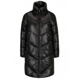 Černý dámský lesklý prošívaný kabát Broadway Ondina