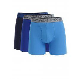 Sada tří boxerek v modré barvě Under Armour