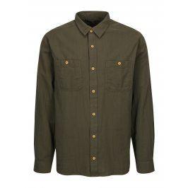 Tmavě zelená pánská košile BUSHMAN Seadrift
