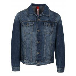 Modrá pánská džínová bunda s kapsami s.Oliver