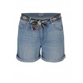 Světle modré džínové kraťasy s vysokým sedem ONLY Dana