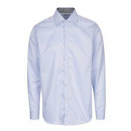 Světle modrá pánská formální košile VAVI