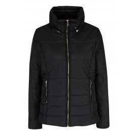 Černá prošívaná bunda se skrytou kapucí ONLY Brooke