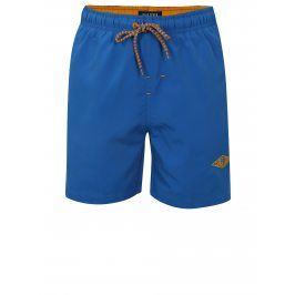 Modré klučičí plavky s kapsami Blue Seven
