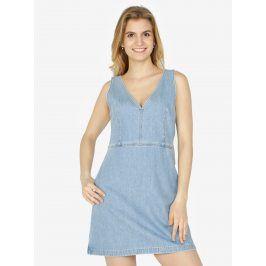 Světle modré džínové šaty Calvin Klein Jeans Dionne