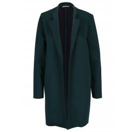 Tmavě zelený lehký kabát s kapsami Rich & Royal
