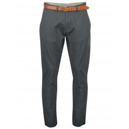 Zelenošedé slim fit chino kalhoty  Selected Homme Yard
