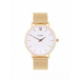 Dámské hodinky ve zlaté barvě CLUSE Minuit