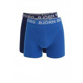 Sada dvou boxerek v modré barvě Björn Borg